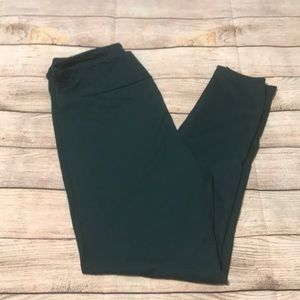 Lularoe TC leggings Hunter Green